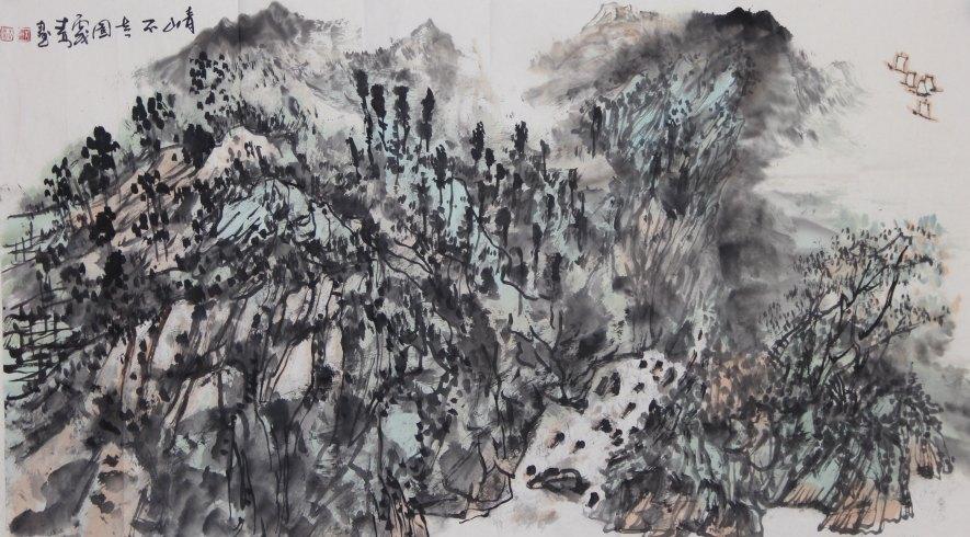 《2003年当代中国画家水墨小品精选》,《山水画创作与监摹名家技法》